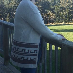 Forever 21 long cardigan sweater size Large